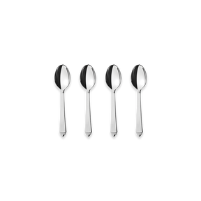 PYRAMID coffee spoon giftbox, 4 pcs - stainless steel