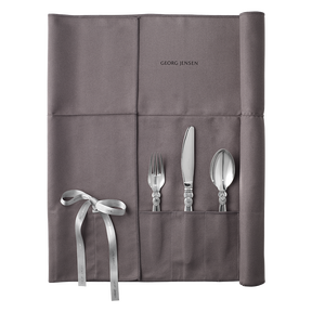 Silver cutlery bag, large