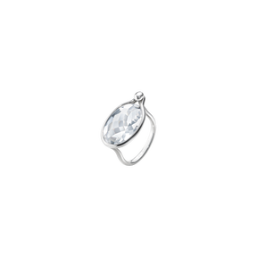 SAVANNAH ring – sterlingsilver med bergkristall