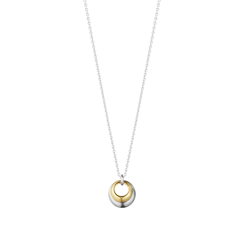 CURVE necklace with pendant