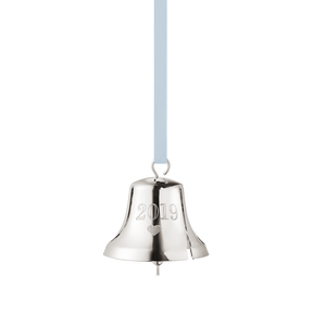 2019 Christmas Bell decoration - Palladium plated| Georg Jensen