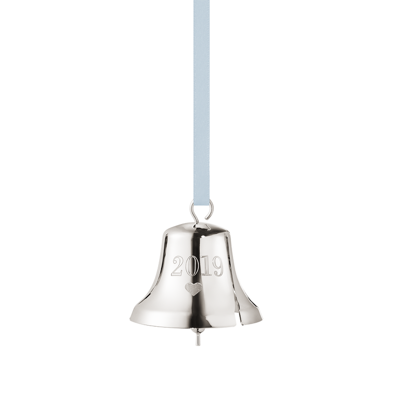2019 Christmas Bell decoration - Palladium plated