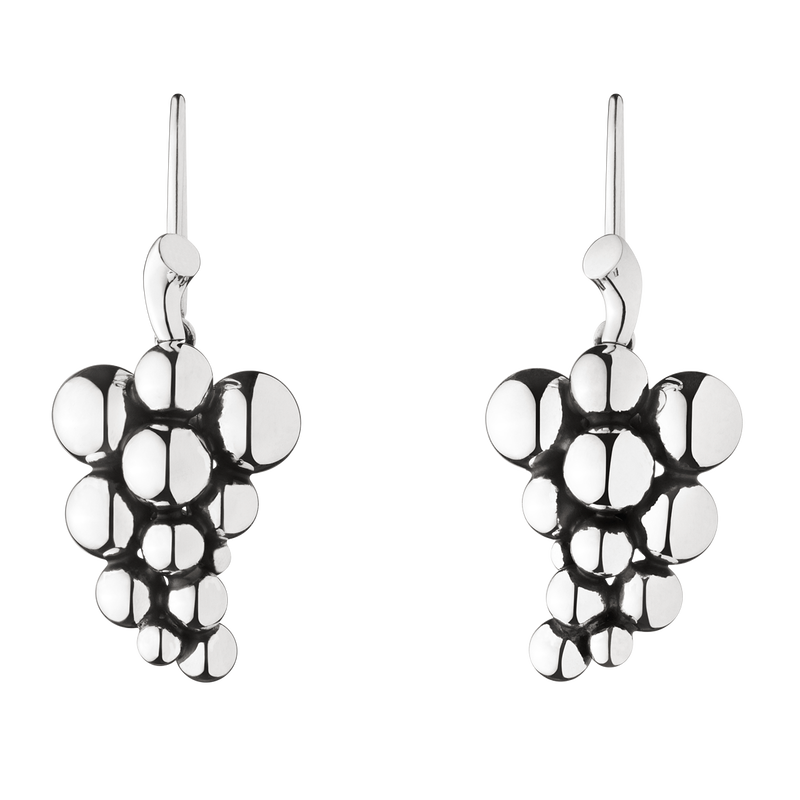 ae1613cab MOONLIGHT GRAPES earrings - oxidised sterling silver