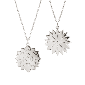 2020 Ornament, Ice Dianthus & Rosette