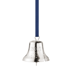 2017 Christmas Bell, palladium plated
