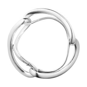 INFINITY Sterling Silver Bangle, 3 links