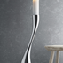 COBRA Floor candleholder - stainless steel