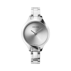CONCAVE - 30 mm, Quartz, sunray dial, steel bracelet