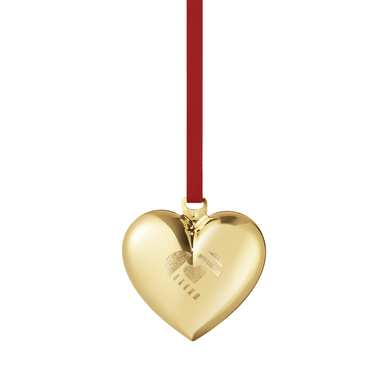 2019 Christmas Heart decoration