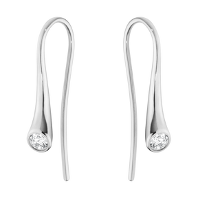MAGIC earrings - 18 kt. white gold with diamonds