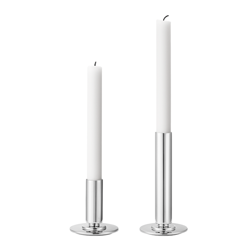 MANHATTAN candleholder set, small and large