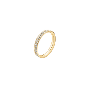 MAGIC ring - 18 kt. guld med pavéfattede brillanter