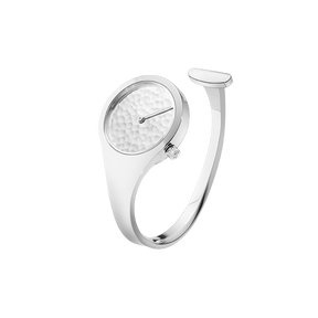 VIVIANNA - 27 mm, Quartz, hammered silver dial - limited edition