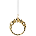 JOHANNE ornament wreath gold plated, large