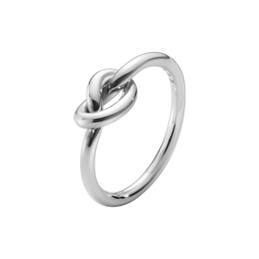 LOVE KNOT ring - sterling silver