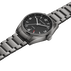 DELTA CLASSIC - 42 mm, Automatic mechanical, GMT, black dial, steel bracelet