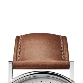 KOPPEL strap - 38 mm, brown leather - M