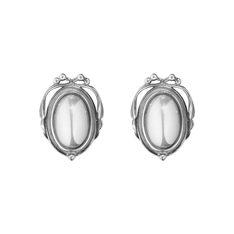 2017 HERITAGE earclips - oxidised sterling silver