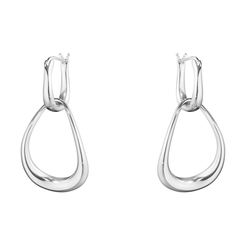 OFFSPRING interlocked earrings - sterling silver