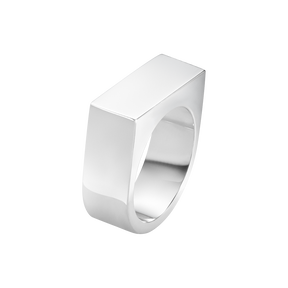ARIA ring – sterlingsilver, bred