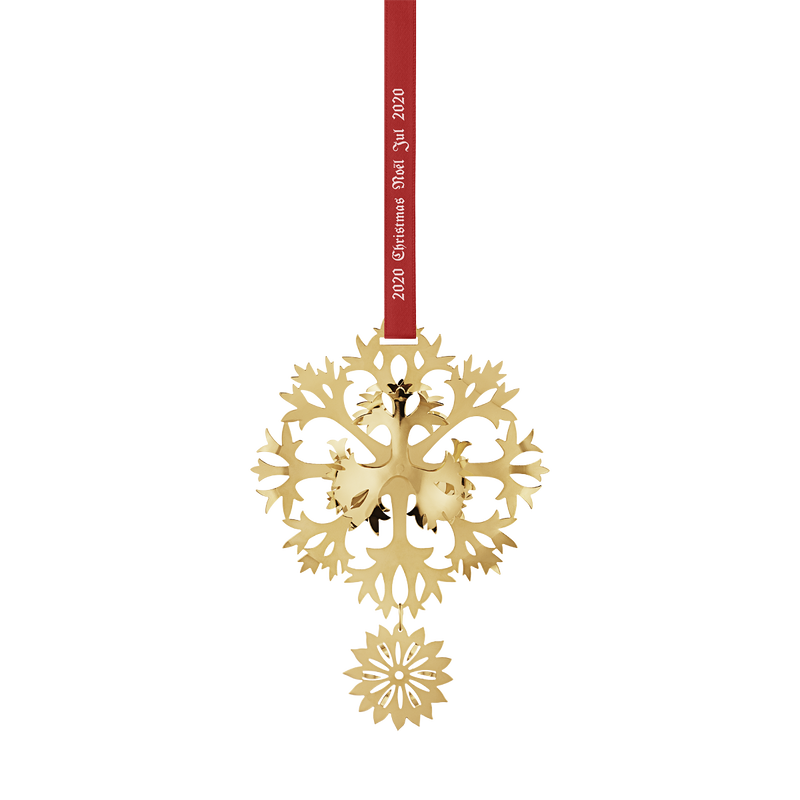 2020 Christmas Mobile, Ice Flower