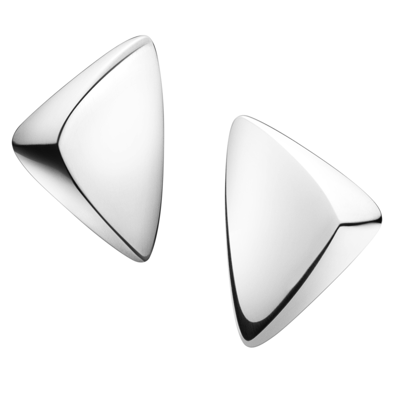 Peak Earclips - sterling silver