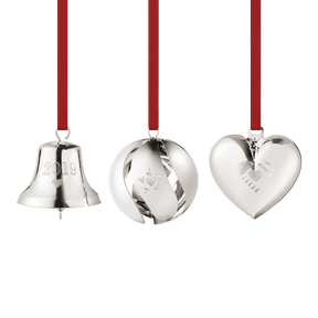 2019 Christmas Collectibles Gift Set - palladium plated