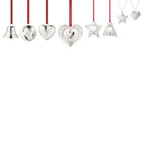 2019 Christmas Collectibles Gift Set, 8 pieces - palladium plated