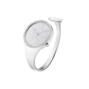 VIVIANNA - 34 mm, Quartz, pavé set diamond dial, diamond bezel