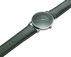 KOPPEL - 41 mm, Quartz, green dial, green leather strap