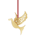 2014 Holiday Ornament Dove, gold plated