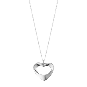 HEARTS OF GEORG JENSEN anheng - sterlingsølv, stort