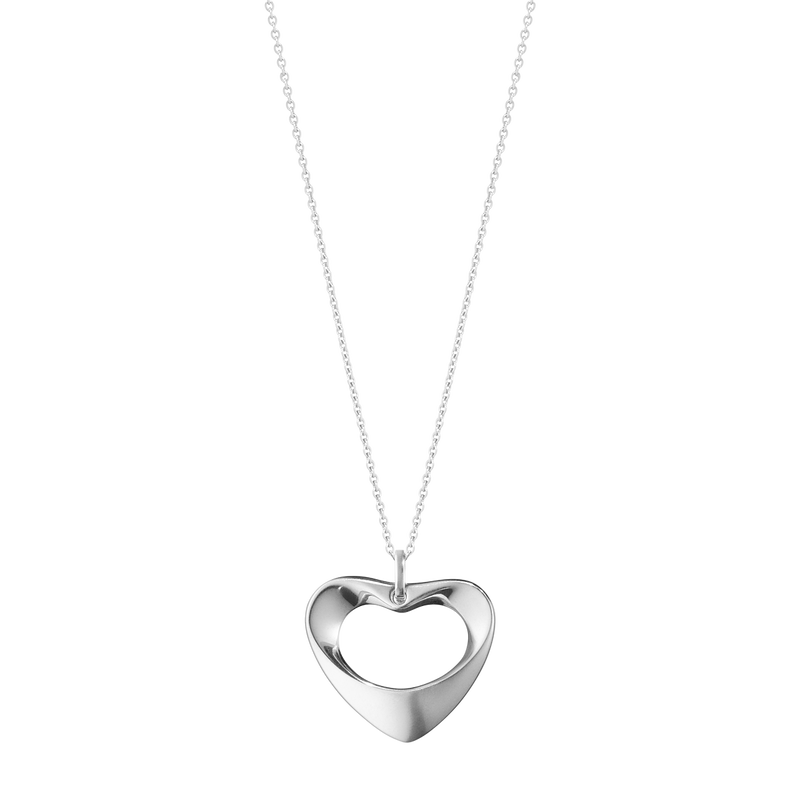 HEARTS OF GEORG JENSEN pendant - sterling silver, large
