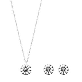 DAISY set - sterling silver
