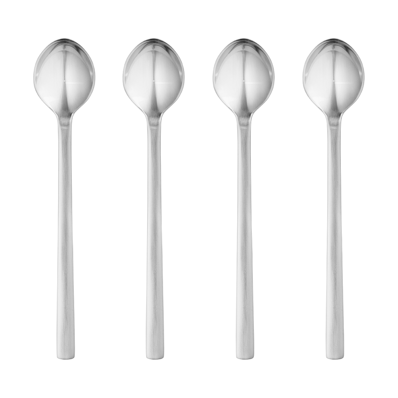 NEW YORK caffe latte spoon set - stainless steel, 4 pcs.