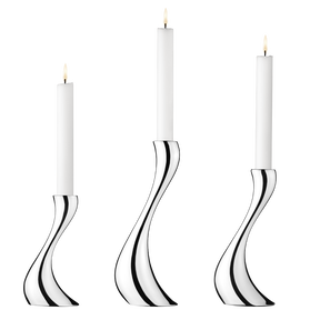 COBRA candleholder set, 3 pcs. incl. candles