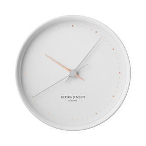 KOPPEL 22 cm wall clock, white