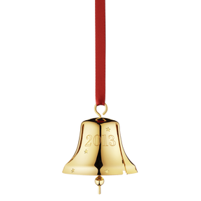 2013 Christmas Bell Stars, gold plated