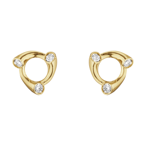 MAGIC Ohrringe - 18 kt Gelbgold mit Diamanten