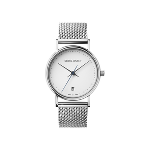KOPPEL - 32 mm, Quartz, white dial, bracelet