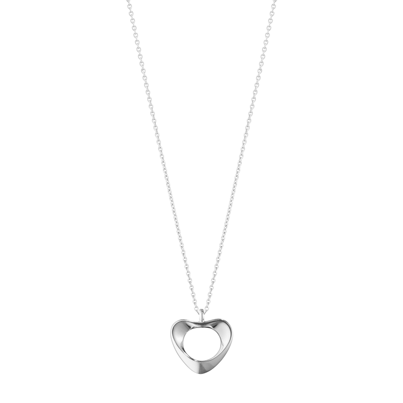 HEARTS OF GEORG JENSEN anheng - sterlingsølv, lille