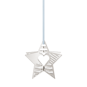 2019 Holiday Ornament, Star - Palladium Plated| Georg Jensen