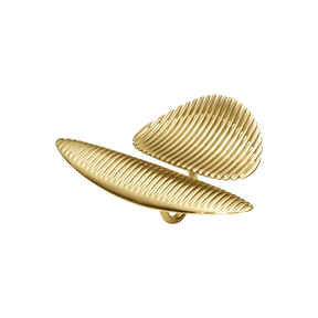 LAMELLAE twin ring - 18 kt. gold
