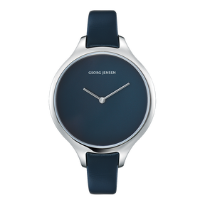 CONCAVE - 39 mm, Quarz, blaues Zifferblatt