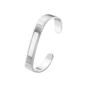 MEN'S CLASSIC bangle - sterling silver