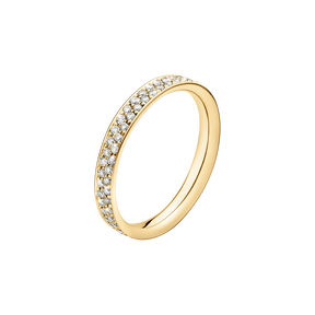 MAGIC Ring - 18 kt Gold mit Brillanten in Pavé-Fassung
