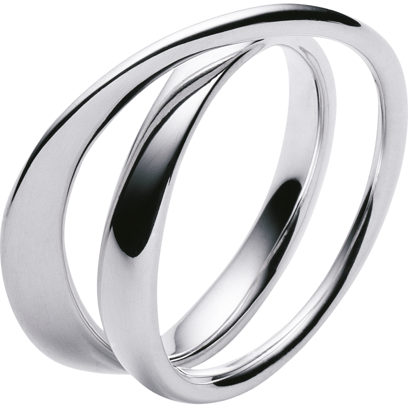 MÖBIUS ring - sterling silver