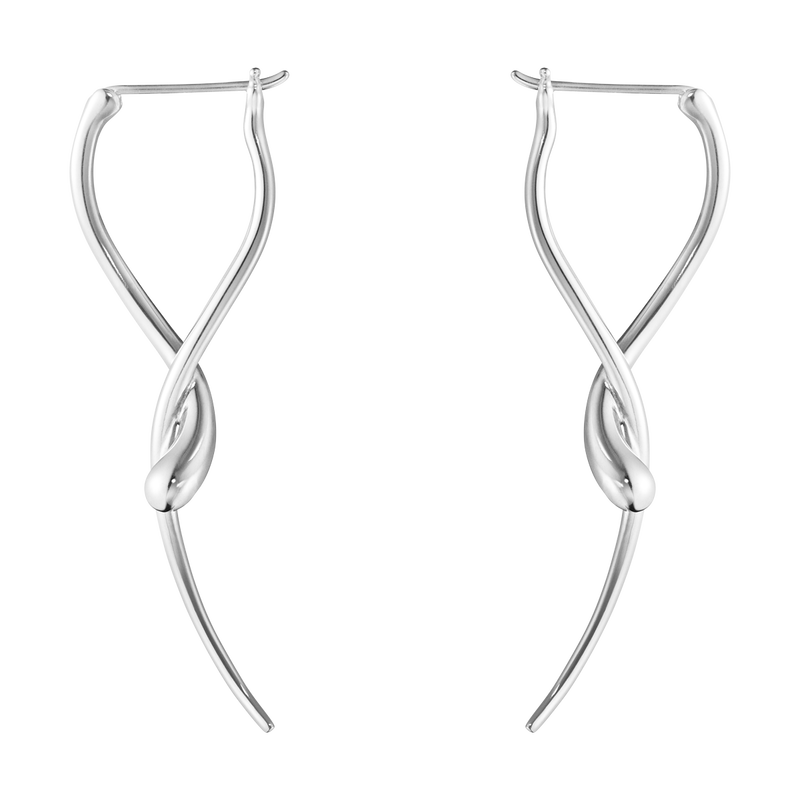 MERCY, long earring sterling silver