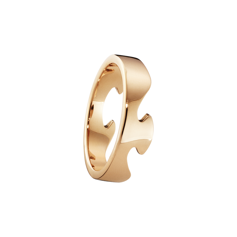 FUSION end ring - 18 kt. rose gold