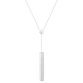 ARIA necklace - drop, sterling silver